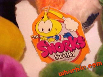 The Snorks Story Tag
