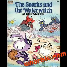 Snorks Coloring Book