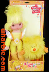 Toy Play Canary Yellow Doll & Spark