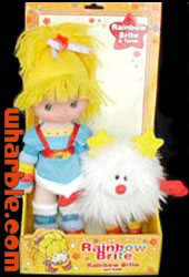 Toy Play Rainbow Brite Doll & Twink