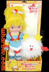 Toy Play Rainbow Brite Doll & Twink