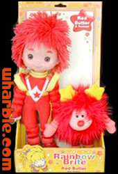 Toy Play Red Butler Doll & Romeo