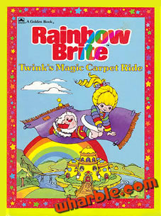Rainbow Brite Twink's Magic Carpet Ride