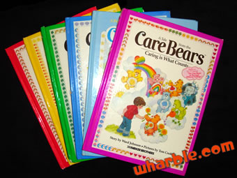 Vintage Care Bear Books