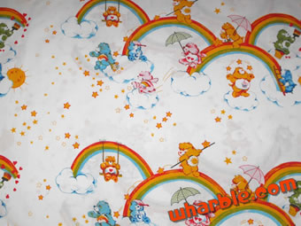 Vintage Care Bear Sheets