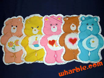 Care Bear Pillow Fabric