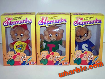 Alvin & the Chipmunks Plush Toys