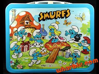 Vintage Smurf Lunchbox