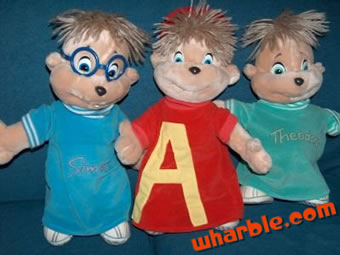Plush Alvin & the Chipmunks