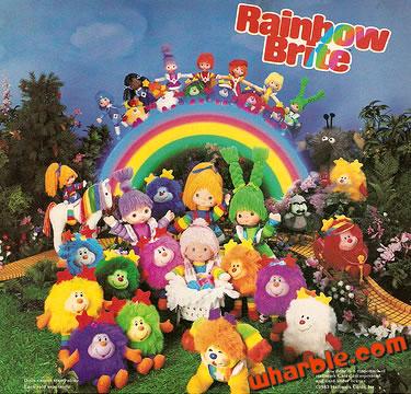 Vintage Rainbow Brite Dolls