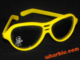 Smurf Sunglasses