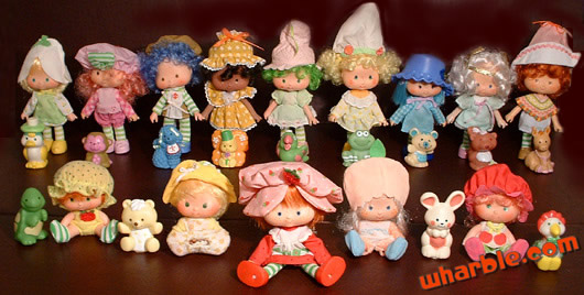 Scented Strawberry Shortcake Dolls