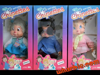 The Chipettes Soft Dolls