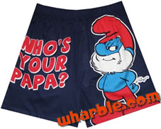 Smurf Boxer Shorts