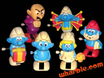 Wind Up Smurfs