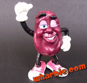Winking California Raisin Figure